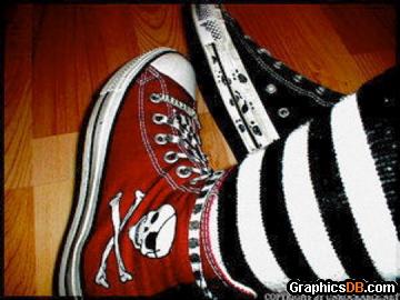 punk converse