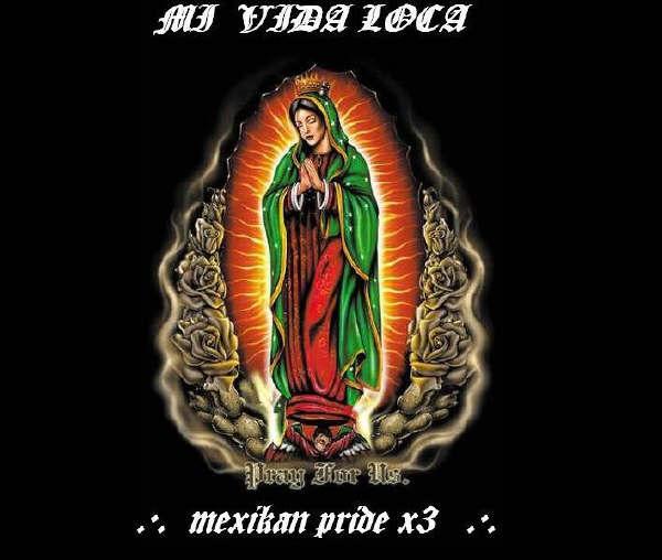 Graphics   MySpace Backgrounds   Still  HOT    Virgen De Guadalupe