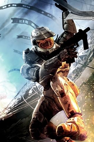 Facebook Halo 3 Art iPhone Wallpaper pictures, Halo 3 Art ...