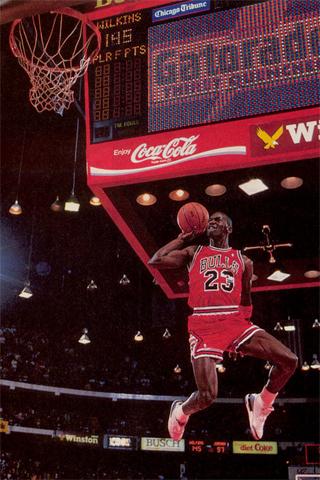 Michael Jordan1 IPhone Wallpaper