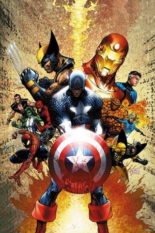 Facebook Marvel1 Cellphone Wallpaper Pictures