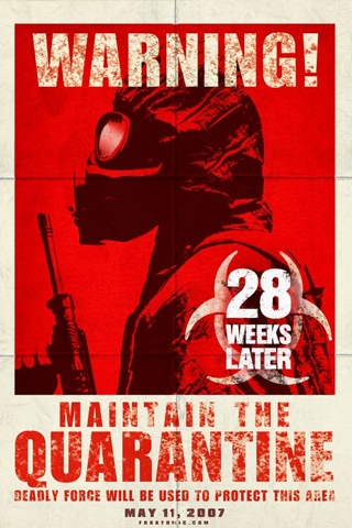 28 Weeks Later iPhone Wallpaper