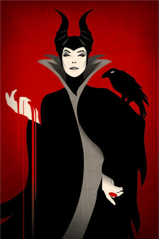 Facebook Maleficent And Diablo Iphone Wallpaper Pictures