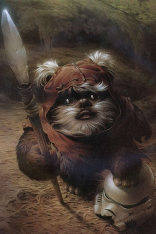 Ewok for Pinterest