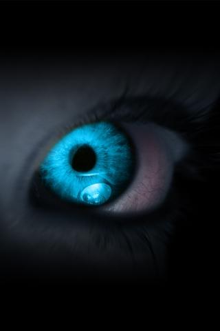 Facebook Blue Glowing Eye pictures, Blue Glowing Eye ...