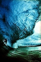 Big Wave Surfing iPhone Wallpaper
