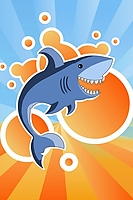 yay shark iPhone Wallpaper