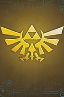 Zelda Triforce iPhone Wallpaper